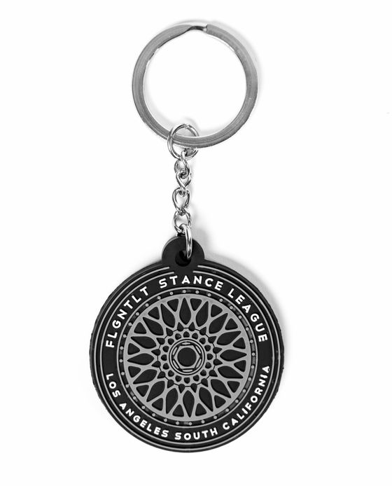 TLT WHEEL RIM RUBBER KEY CHAIN