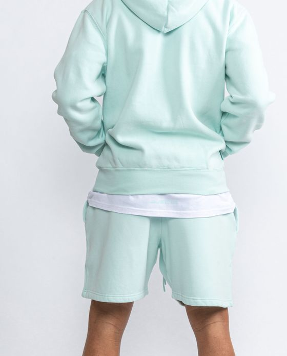 ESSENTIALS SHORTS NEO MINT – Bild 3