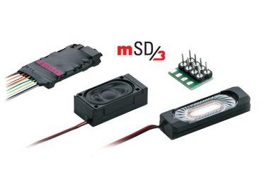 60986 MSD/3-DIESELLOK SoundDecoder MIT KABELBAUM
