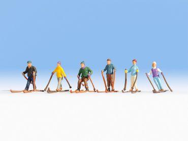 15828 Skifahrer