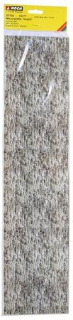"57700 Mauerplatte ""Granit"", extra lang, 64 x 15 cm"