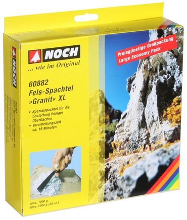 "60882 Fels-Spachtel XL ""Granit"""