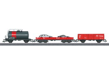 44504 Güterwagen-Set Cargo