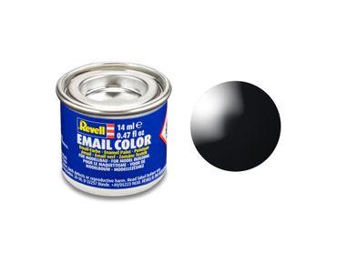 Revell 32107 schwarz, glänzend      RAL 9005        14 ml-Dose – Bild 2