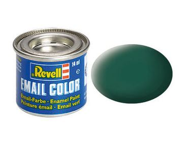 Revell 32148 seegrün, matt          RAL 6028        14 ml-Dose – Bild 2