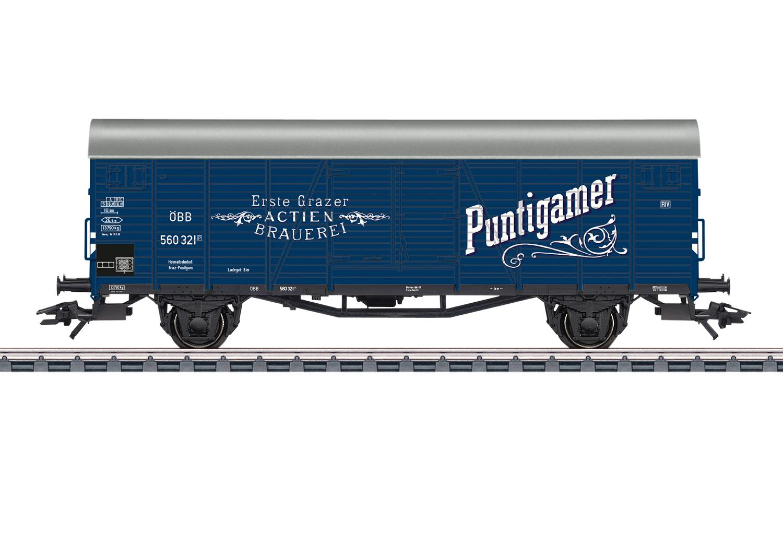 Märklin H0 48939 Bierwagen Puntigamer