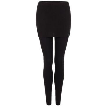 Yoga Damenhose lang schwarz, Legging SITA von hut und berg balance
