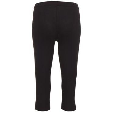 Yoga Damenhose schwarz, LOTUS Legging 3/4 von hut und berg balance