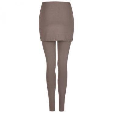 Yoga Damenhose lang taupe-antra, Legging SITA von hut und berg balance
