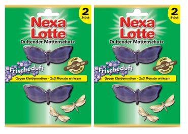 Sparset: 2 x SCOTTS Nexa Lotte® Duftender Mottenschutz Frischeduft, 2 Stück