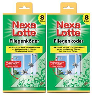 Sparset: 2 x SCOTTS Nexa Lotte® Fliegenköder, 8 Stück