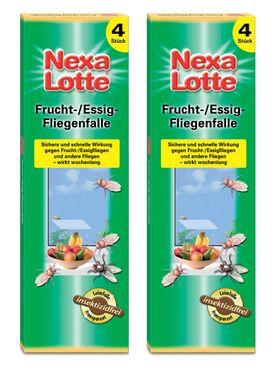 Sparset: 2 x SCOTTS Nexa Lotte® Fliegenfalle, 4 Stück
