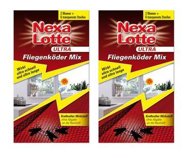 Sparset: 2 x SCOTTS Nexa Lotte® Ultra Fliegenköder-Mix, 2 + 6 Stück