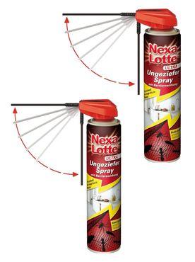 Sparset: 2 x SCOTTS Nexa Lotte® Ultra Ungeziefer Spray, 400 ml