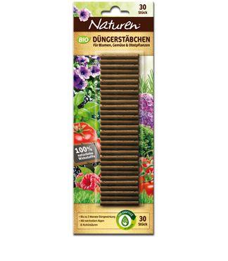 SCOTTS Naturen® Bio Düngestäbchen, 30 Stück