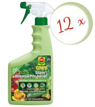 Sparset: 12 x COMPO Duaxo® Universal Pilz-frei AF, 750 ml