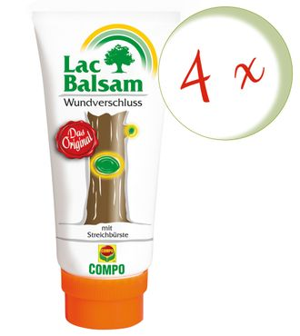 Sparset: 4 x COMPO Lac Balsam, 150 g
