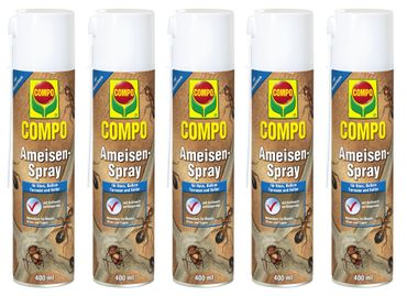 Sparset: 5 x COMPO Ameisen-Spray, 400 ml