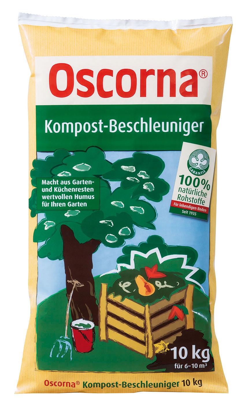oscorna kompost beschleuniger 10 kg oleandershop. Black Bedroom Furniture Sets. Home Design Ideas