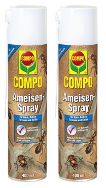 Sparset: 2 x COMPO Ameisen-Spray, 400 ml