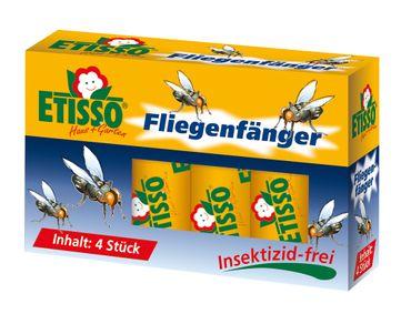 FRUNOL DELICIA® Etisso® Fliegenfänger, 4 Stück