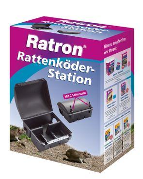 FRUNOL DELICIA® Ratron® Rattenköder-Station, 1 Stück