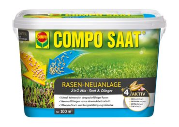 COMPO SAAT® Rasen-Neuanlage-Mix, 2,2 kg