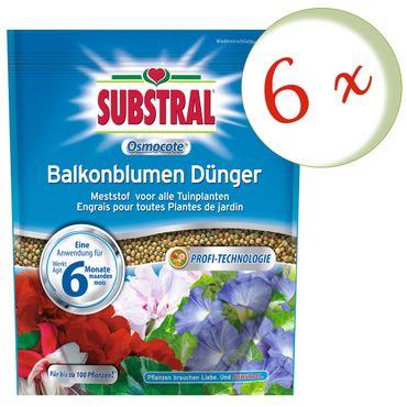 Sparset: 6 x SCOTTS Substral® Osmocote Balkonblumen-Dünger, 1,5 kg