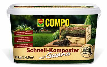 COMPO Schnellkomposter mit Guano, 3 kg