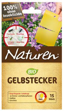 SCOTTS Naturen® Bio Gelbstecker, 15 Stück