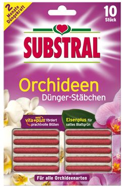 SCOTTS Substral® Dünger-Stäbchen für Orchideen, 10 Stück