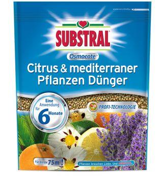 SCOTTS Substral® Osmocote Citrus & mediterraner Pflanzen Dünger, 1,5 kg