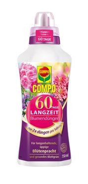 COMPO 60 Tage Langzeit Blumendünger, 750 ml