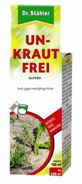 DR. STÄHLER Glyfos Unkraut-Frei, 100 ml