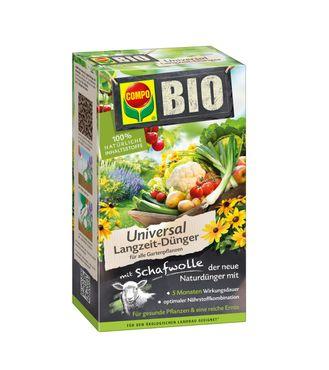 COMPO BIO Universal Langzeit-Dünger mit Schafwolle, 2 kg