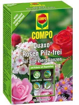 COMPO Duaxo® Rosen Pilz-frei für alle Zierpflanzen, 50 ml