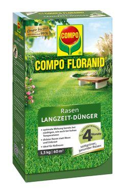 COMPO Floranid® Rasen-Langzeitdünger, 1,5 kg
