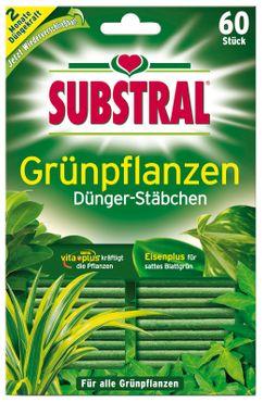SCOTTS Substral® Dünger-Stäbchen für Grünpflanzen, 60 Stück