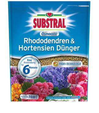 SCOTTS Substral® Osmocote Rhododendren & Hortensien Dünger, 1,5 kg
