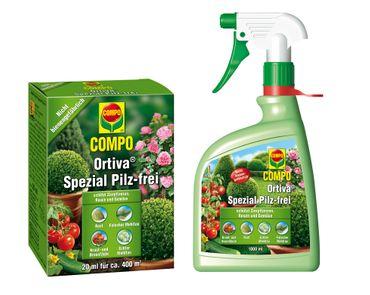 Oleanderhof® COMPO Ortiva® Spezial Pilz-frei Set, 2-teilig