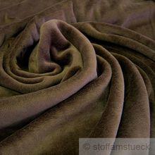 Baumwolle / Polyester Nicki braun