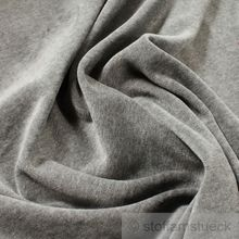 Baumwolle / Polyester Nicki hellgrau