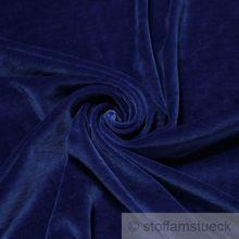 Baumwolle / Polyester Nicki kobaltblau