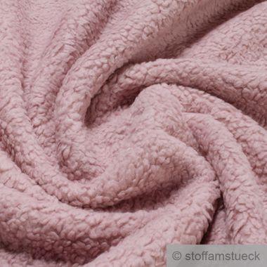 Baumwolle Plüsch Teddy rosa