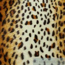 Polyester Plüsch Leopard