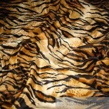 Polyester Plüsch Tiger