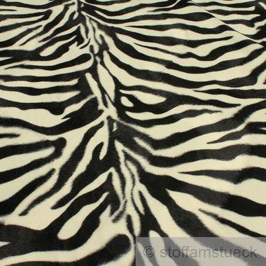 Polyester Plüsch Zebra