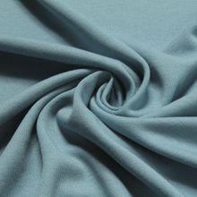 Baumwolle Interlock Jersey pastellblau