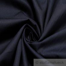 Baumwolle Popeline dunkelblau