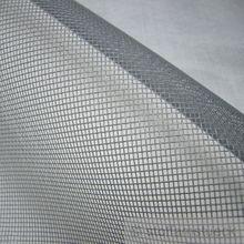 Polyester / PVC Moskitonetz grau